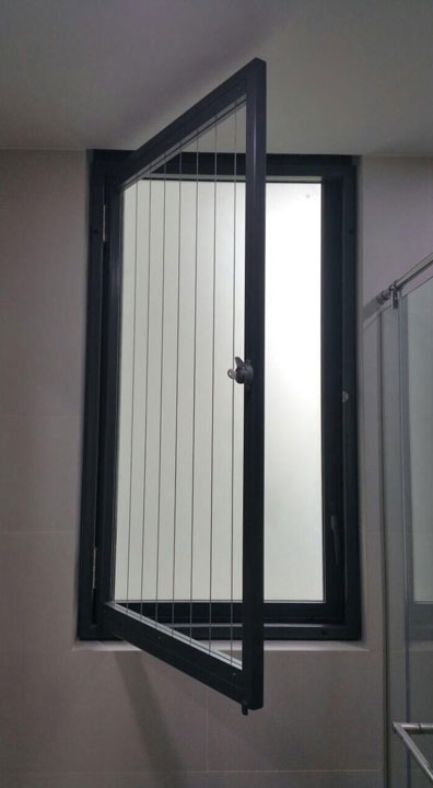 Openable Casement Window Invisys Invisible Grille